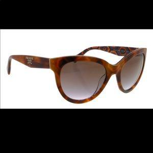 Prada Womens Cat eye Sunglasses